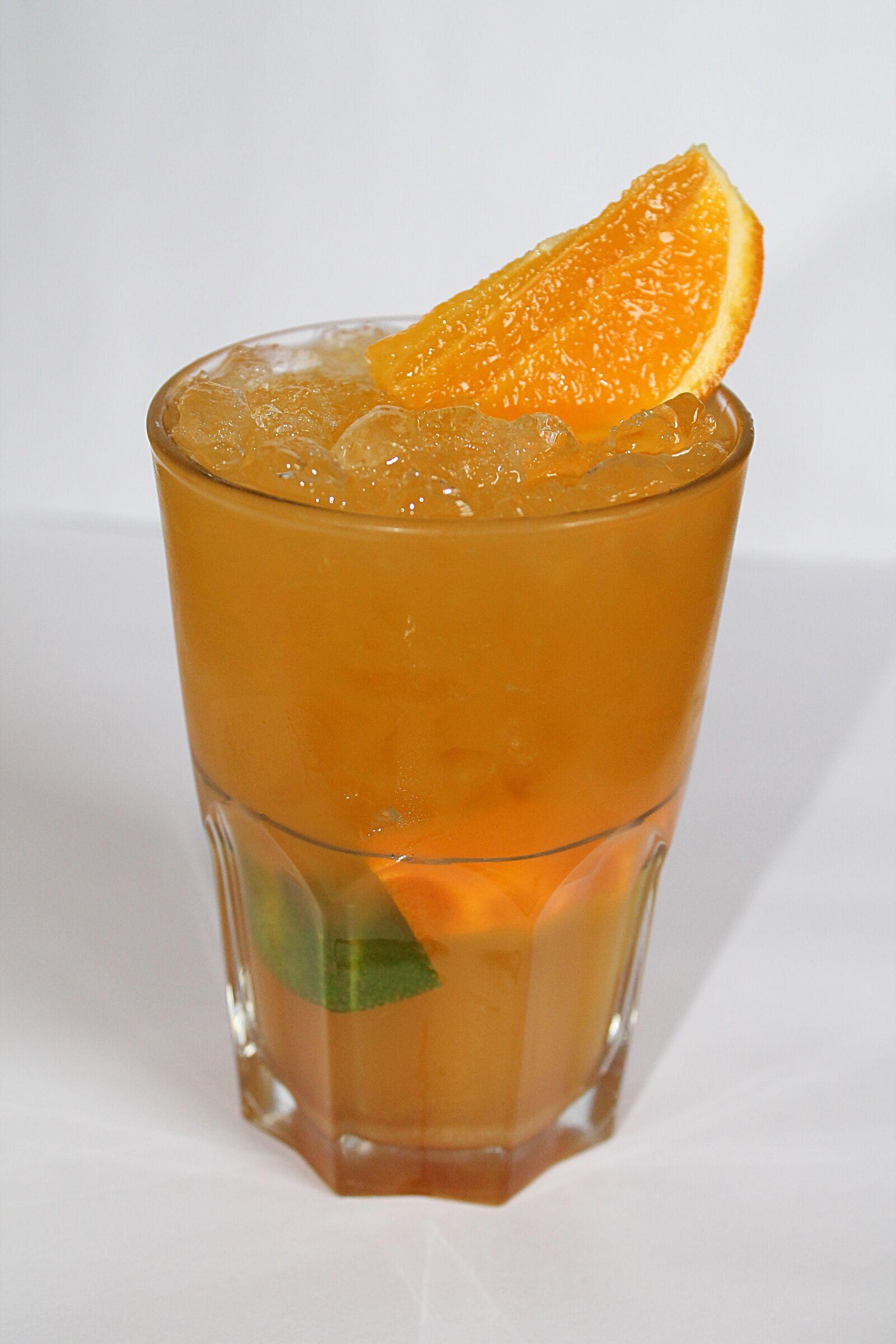 "Canon EOS 1100D (EOS Rebel T3 / EOS Kiss X50) sample photo. ""Cocktail, alcohol, orange"" photography"