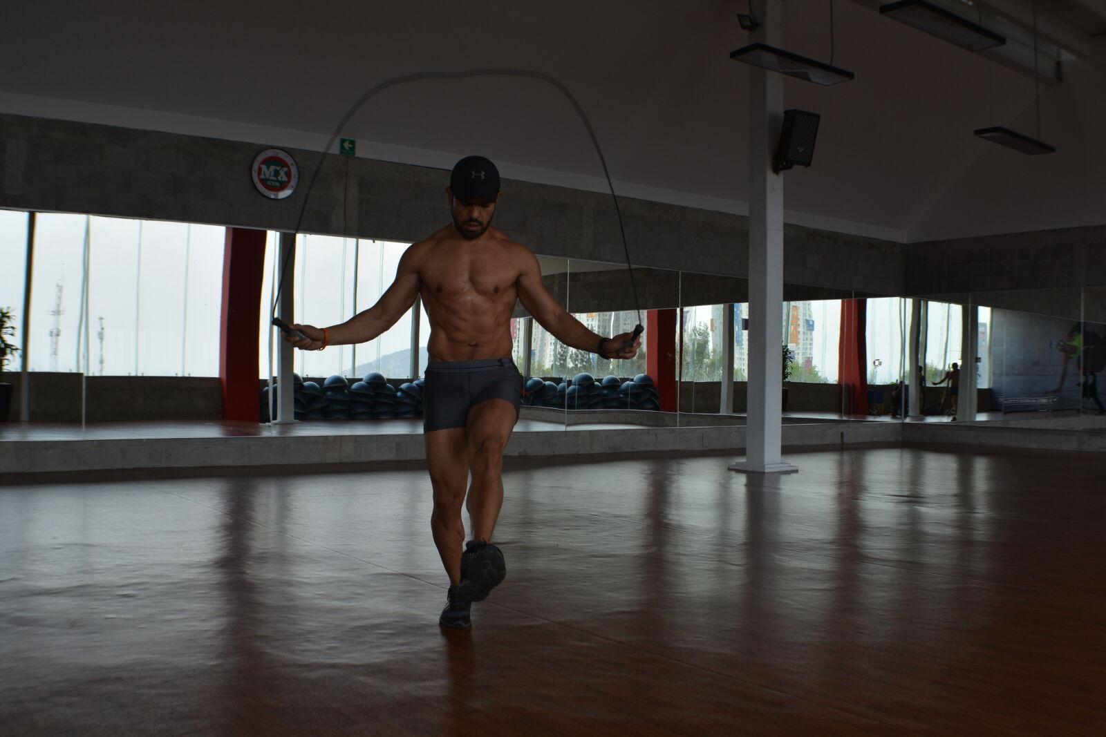 "Nikon D5200 sample photo. ""Emilio, casas, fitness, jumping"" photography"