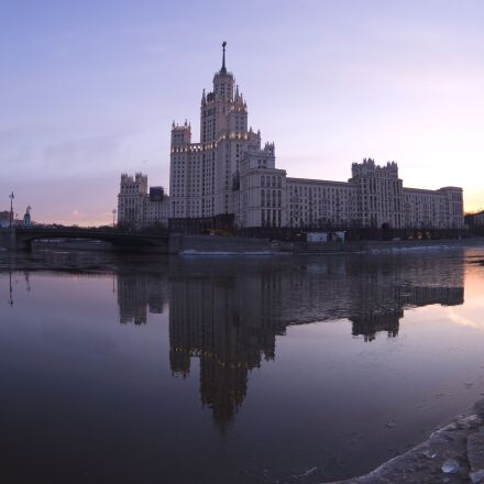 city, moscow, river, Samsung NX3000
