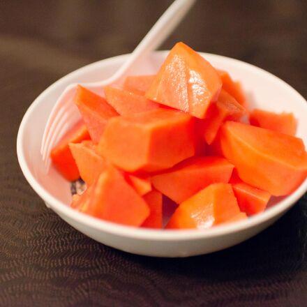 fruit, papaya, Nikon D7000