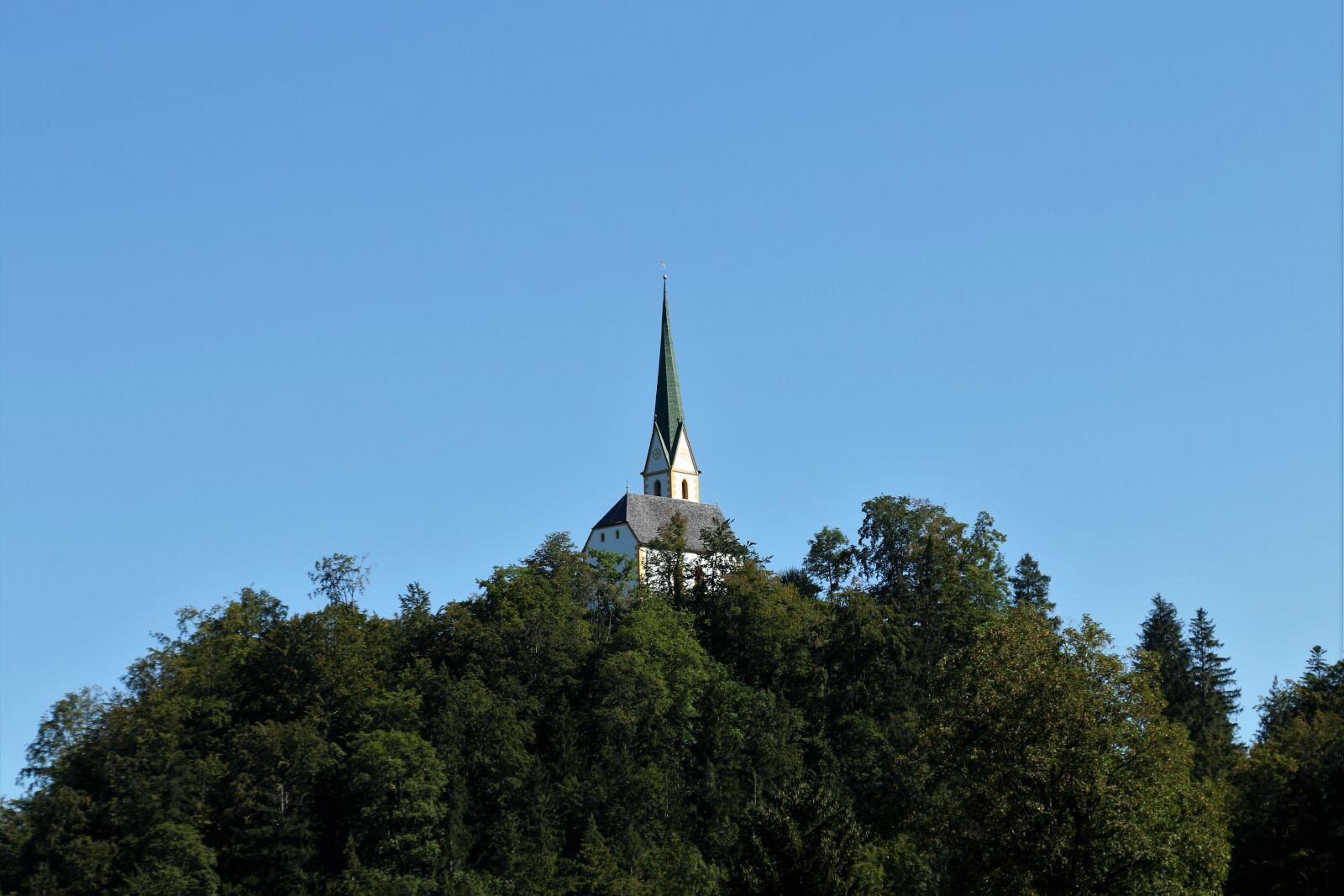 """Canon EOS 70D sample photo. """"Church, steeple, sky"""" photography"""