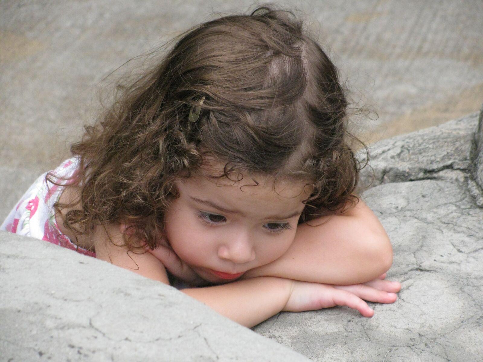 "Canon PowerShot SX110 IS sample photo. ""Sad, sleepy, child"" photography"