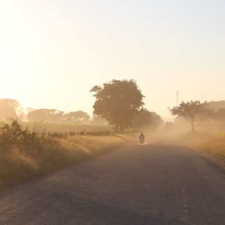 costa, rica, motorcycle, sunrise, Canon EOS REBEL T5I
