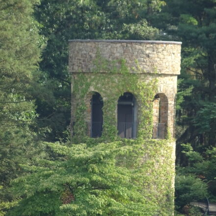 castle, park, tower, Sony DSC-QX30