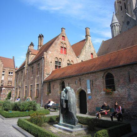 bruges, city, belgium, Canon DIGITAL IXUS 200 IS