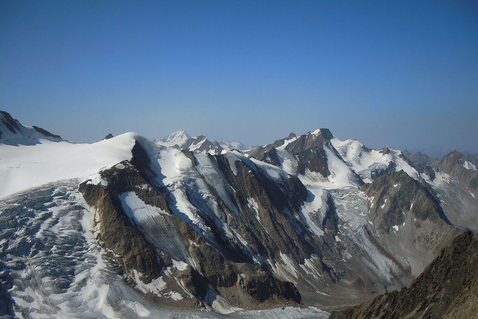 """Nikon Coolpix S8000 sample photo. """"Snow, mountain, mountain summit"""" photography"""
