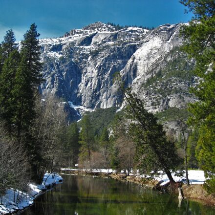 yosemite, snow, snowmelt, Canon IXY DIGITAL 800 IS