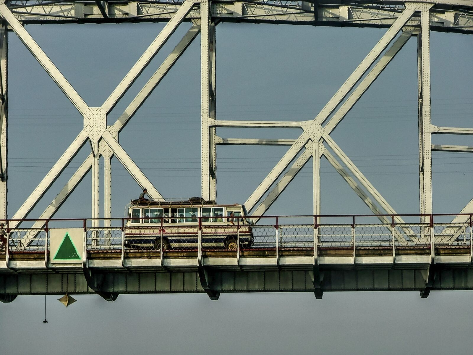 bus, bridge, coach