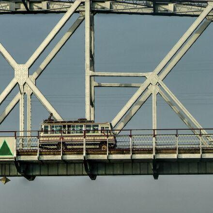 bus, bridge, coach, Fujifilm FinePix S5000