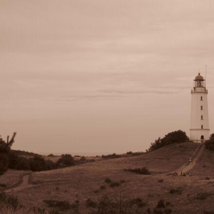 lighthouse, rügen, retro, Canon POWERSHOT SX120 IS
