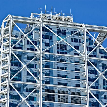 building, tower, skyscraper, Pentax K10D