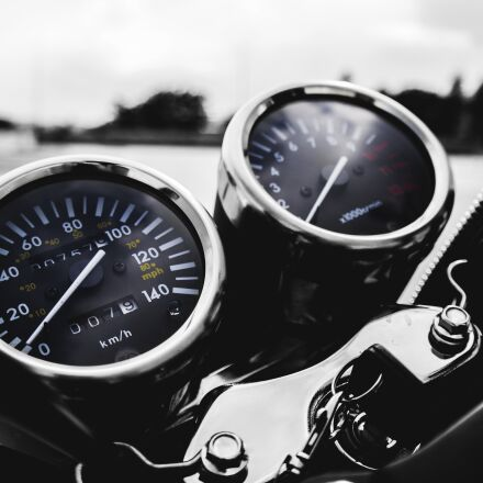 motorbike, motorcycle, road, Samsung NX2000
