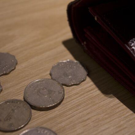 coin, money, small change, Pentax K-X