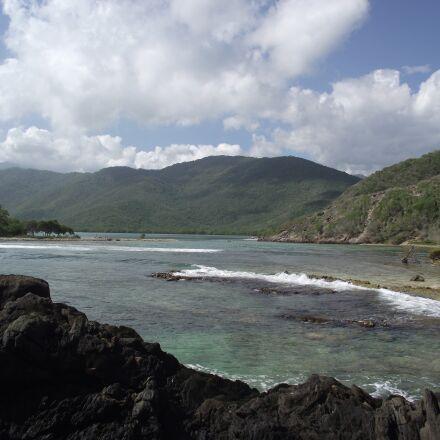 beach, paradise, tropical, Fujifilm FinePix S1800