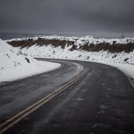 argentina, canon, road, snow, Canon EOS 70D