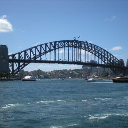 sydney, harbour, bridge, Nikon COOLPIX S210