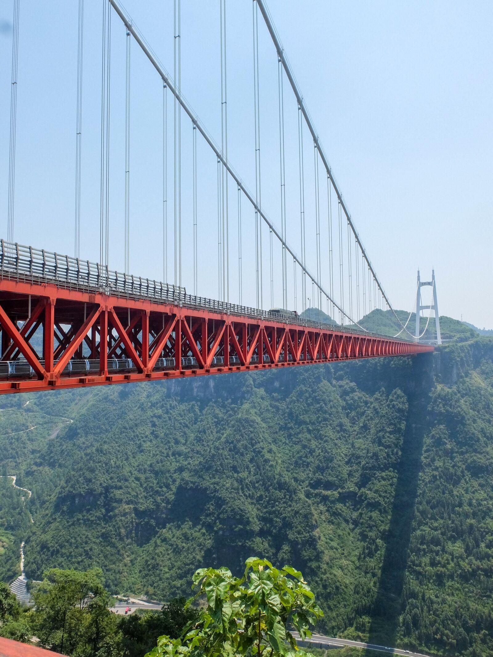 "Fujifilm X30 sample photo. ""Cable-stayed bridge, steel bridge"" photography"