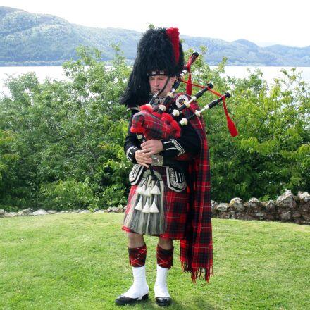 scotland, bagpipes, instrument, Canon IXUS 155