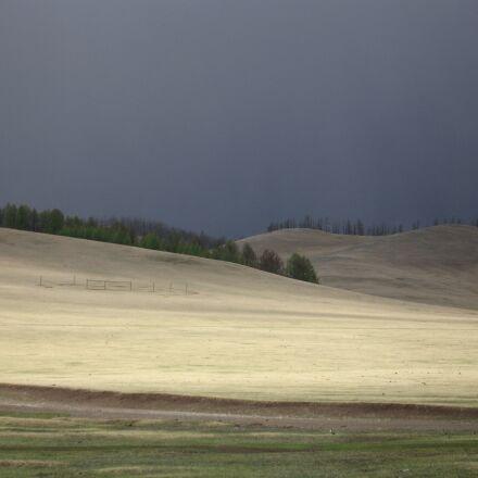mongolia, landscape, steppe, Canon POWERSHOT S70