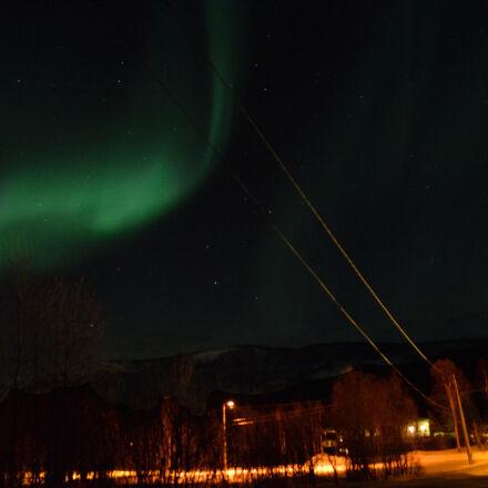 aurora, borealis, night, norway, Nikon D5200