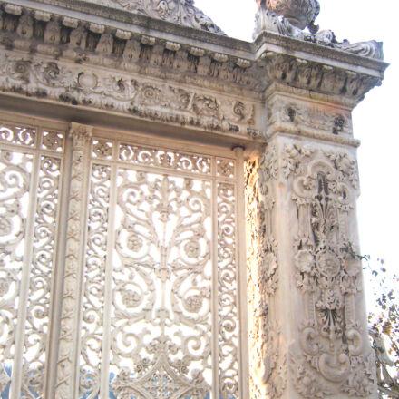 palace, gate, at, kucuksu, Panasonic DMC-LS2
