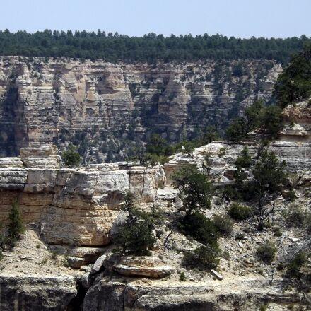 grand canyon, cliff, scenery, Fujifilm FinePix S4430