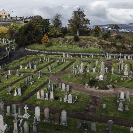 cemetery, castle, cloudy day, Canon EOS 5D MARK II