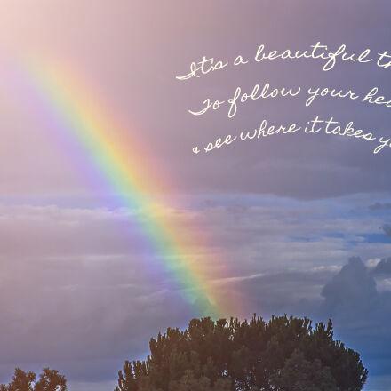 clouds, followyourheart, hope, promise, Nikon D750