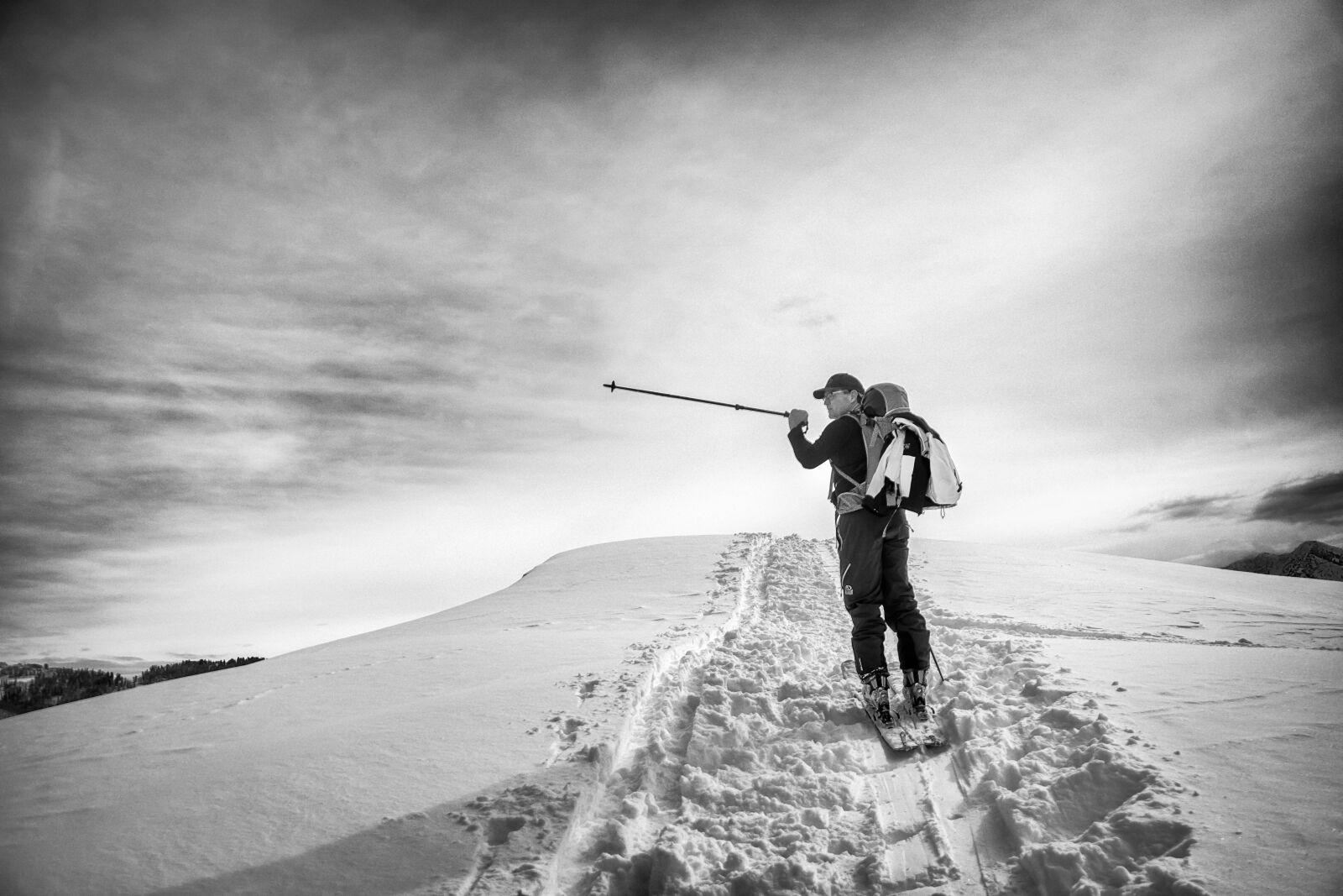 "Sony a6300 sample photo. ""Skiing, ski, skier"" photography"