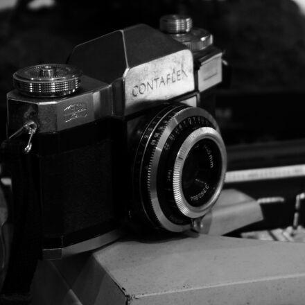 135, bw, camera, film, Canon EOS 50D