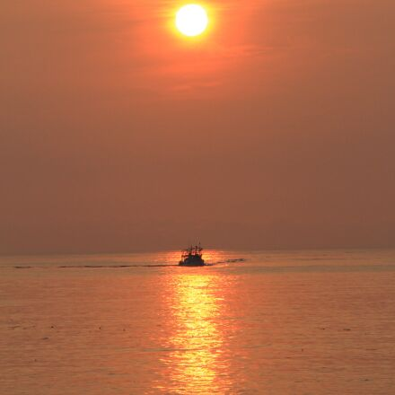 sunrise, sun, the rising, Canon EOS 7D