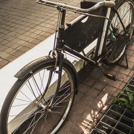 bicycle, vintage, classic, Canon EOS 100D