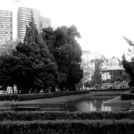 black, and, white, city, Fujifilm FinePix S1800