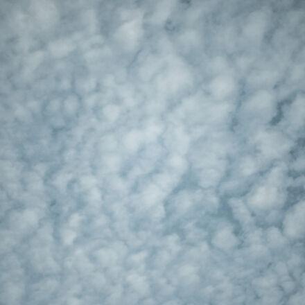 blue, clouds, sky, Samsung NX1