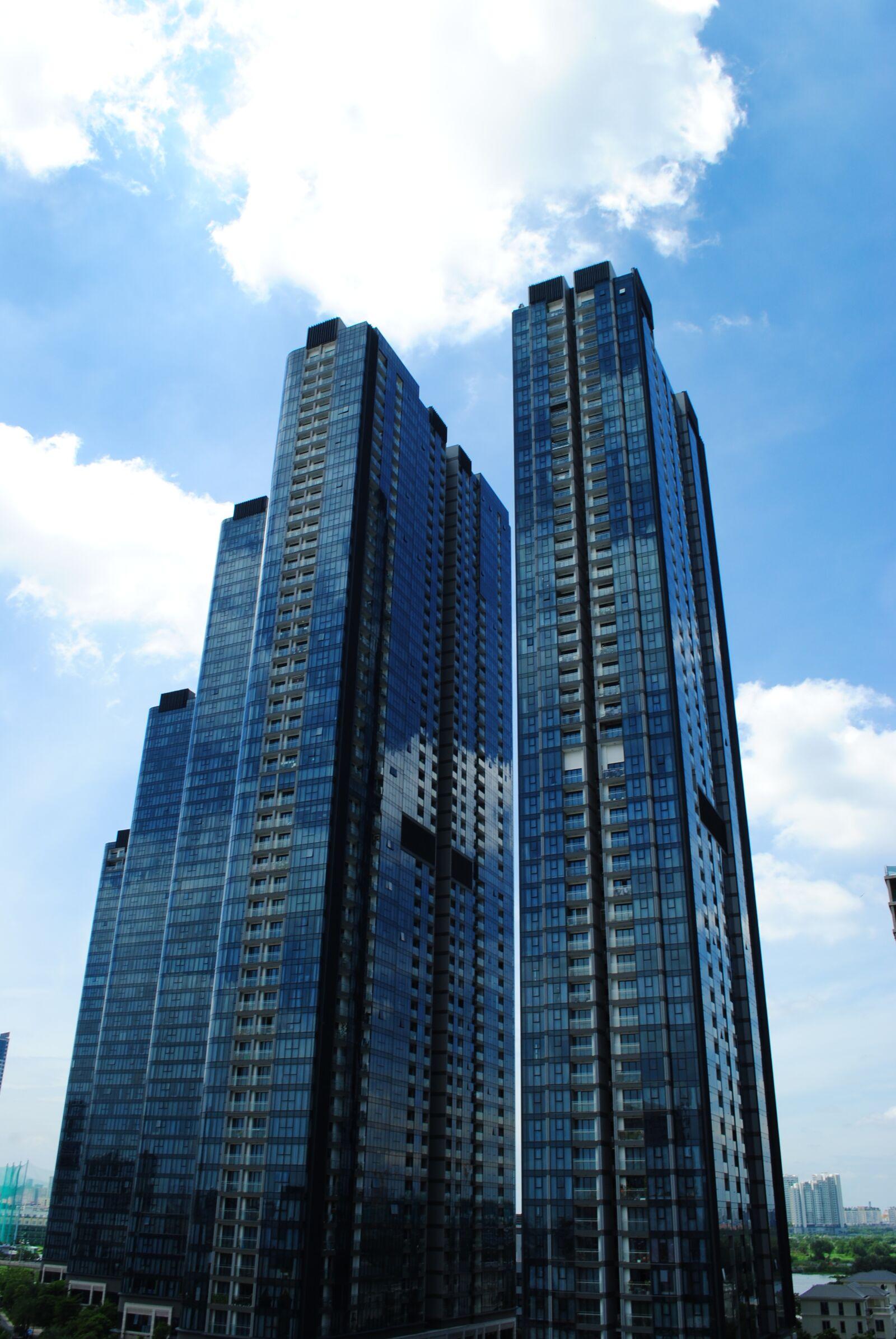 "Nikon D3000 sample photo. ""Buildings, sky, architecture"" photography"