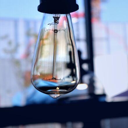 light bulb, interior, lighting, Canon EOS M6