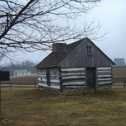 cabin, lancaster, autumn, Sony DSC-P73