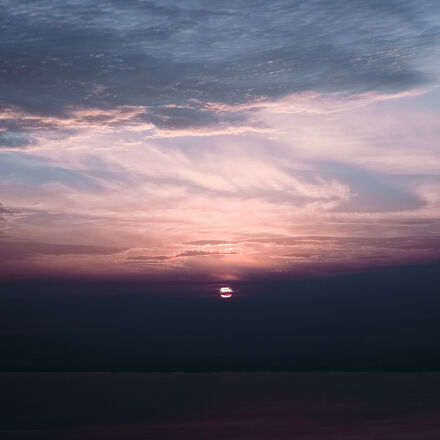 cloudy, sky, during, sunset, Samsung NX1
