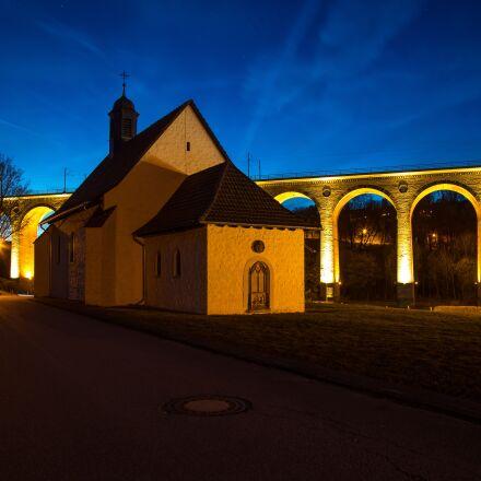 altenbeken, night, railway, Canon EOS 5D MARK IV