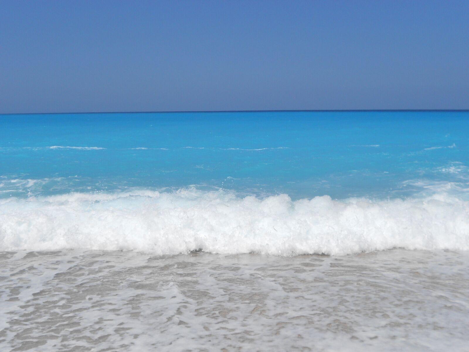 "Nikon COOLPIX S4150 sample photo. ""Sea, sky, summer"" photography"