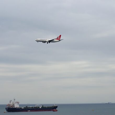 aircraft, airplane, clouds, Samsung NX3000