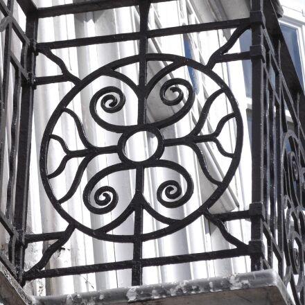 balcony, england, fencing, Fujifilm FinePix T200