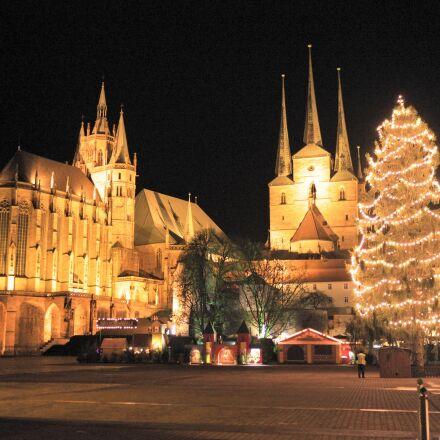 erfurt, christmas market, christmas, Fujifilm X-T1