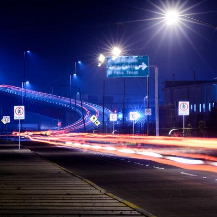car, light, trails, theme, Nikon D7100