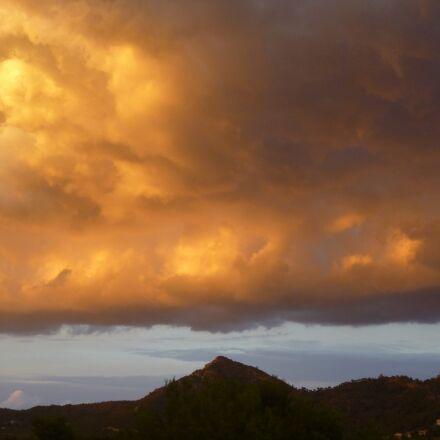 clouds, mood, landscape, Panasonic DMC-FS16