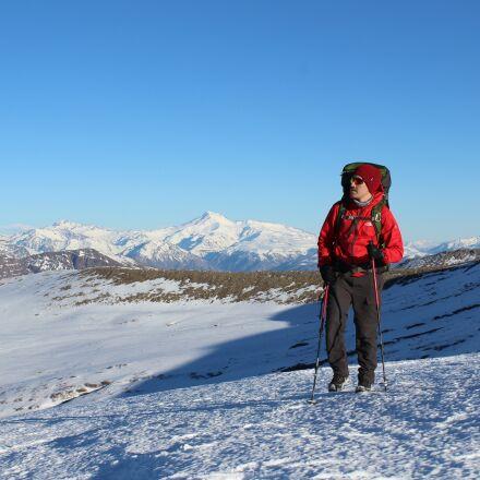 mountain, snow, winter, Canon EOS REBEL T5