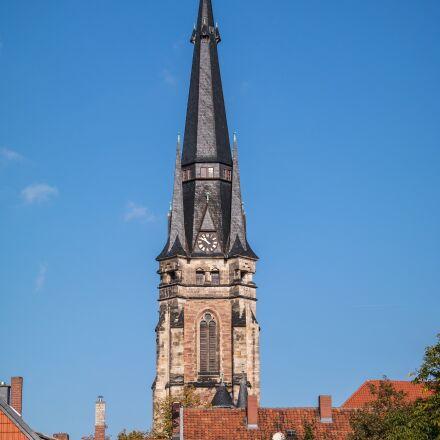 wernigerode, steeple, church of, Samsung NX300M