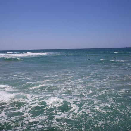 horizon, mediterranean, sea, waves, Canon EOS 6D