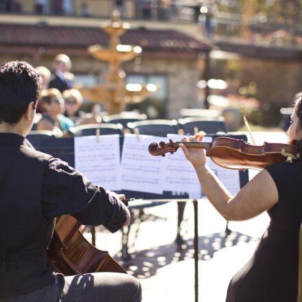 musicians, violin, cello, Canon EOS 6D
