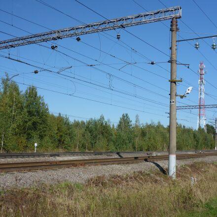 russia, railway, moscow region, Panasonic DMC-FT5